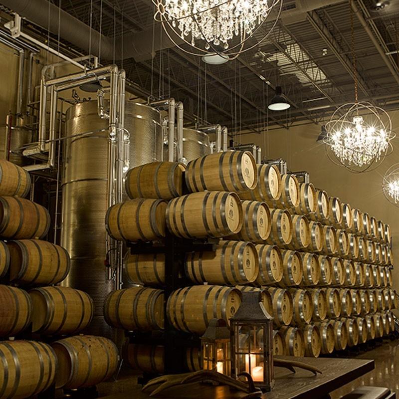 the barrel cellar