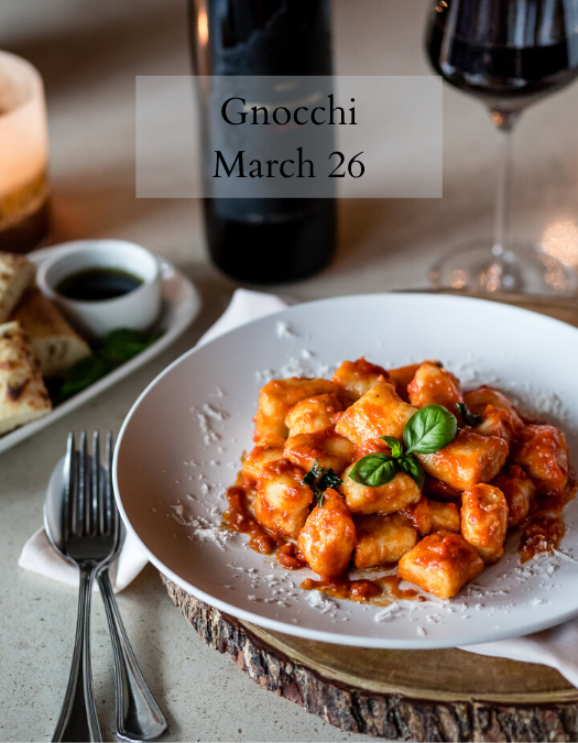 Gnocchi Cooking Class